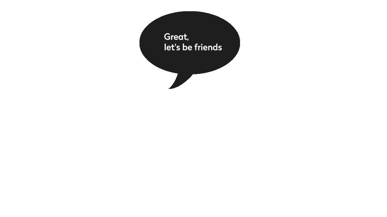 Divno, budimo prijatelji!